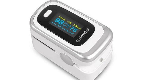 Household Finger Pulse Oximeter Portable Blood Oxygen SpO2 Monitor