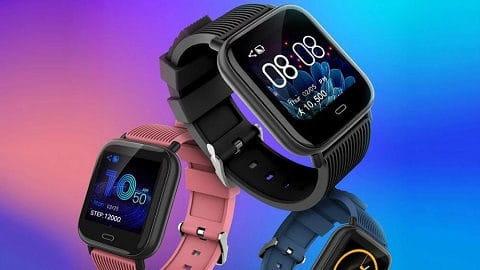 "1.3"" Touchscreen Smart Watch (Heart Rate - Blood Pressure - Blood Oxygen)"