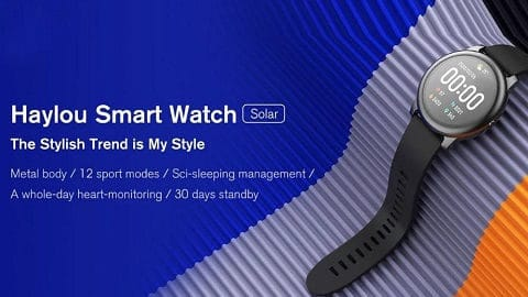 Global Version Haylou Solar LS05 Smart Watch