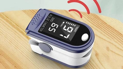 Portable Fingertip Oximeter L-ED Display Blood Oxygen Pulse Rate Monitor