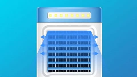 KECHAODA S9 Mini Portable Air Conditioning Fan