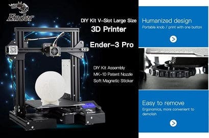Creality 3D Ender-3 Pro High Precision 3D Printer DIY Kit
