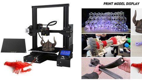 Creality 3D Ender 3X Upgraded High-precision DIY 3D Printer Kit