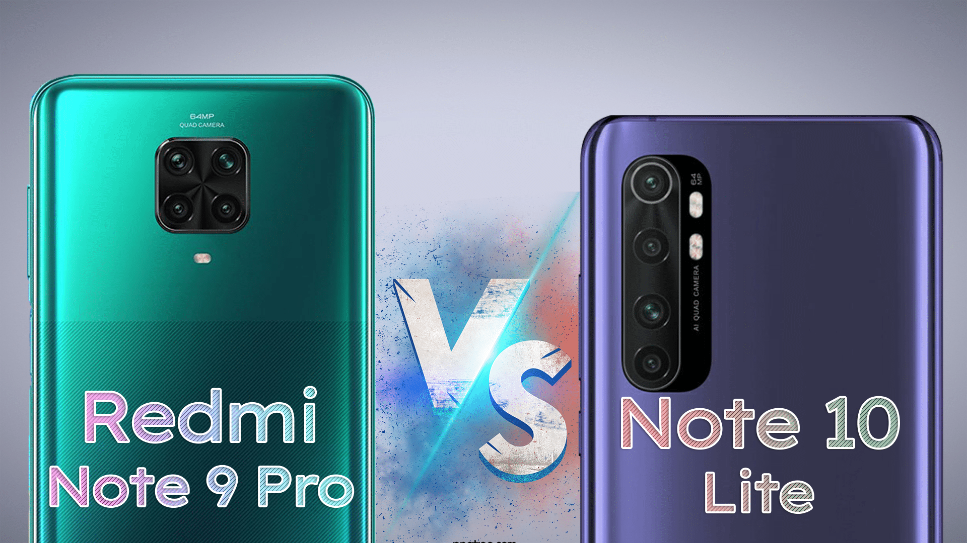 Xiaomi Redmi Note 9 Pro vs Xiaomi Mi Note 10 Lite Camera Comparison