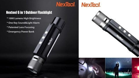 Xiaomi Youpin Nextool Flashlight (φακός 6 σε 1)