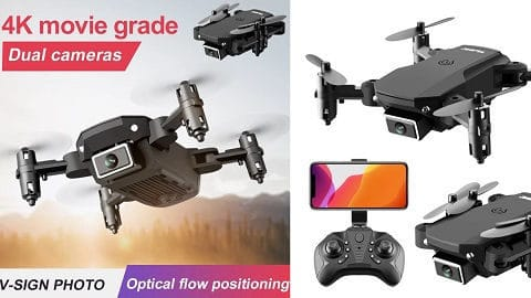 S66 Dual Camera Optical Flow Positioning WiFi FPV Drone