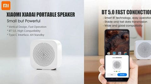 Xiaoai Portable Wireless BT5.0 Speaker (With Microphone Handsfree Call)
