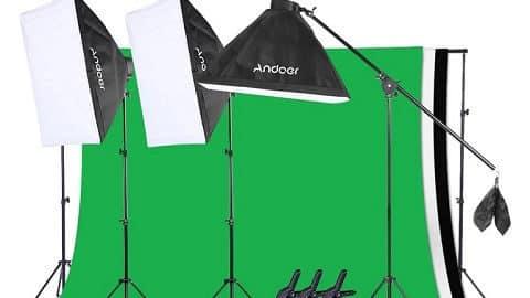Andoer Photo Studio Lighting Kit