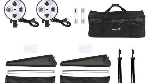 Andoer Photo Studio Lighting Kit (Φωτισμός Studio)