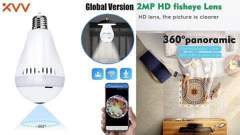 Global Version Xiaovv D3 1080P Smart Bulb Security Camera