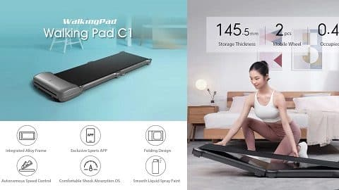 Youpin WalkingPad C1 Foldable Fitness Walking Machine App Control