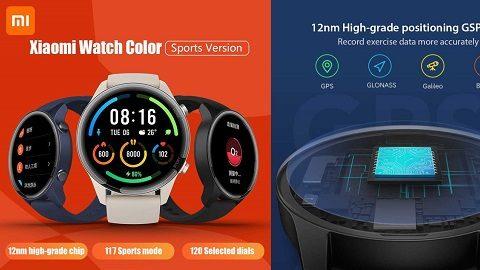 Xiaomi Mi 1.39-Inch HD Screen Smart Watch  (Color Sports Edition)