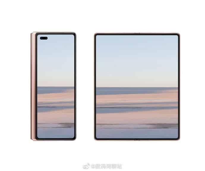 Huawei Mate X2 Renders