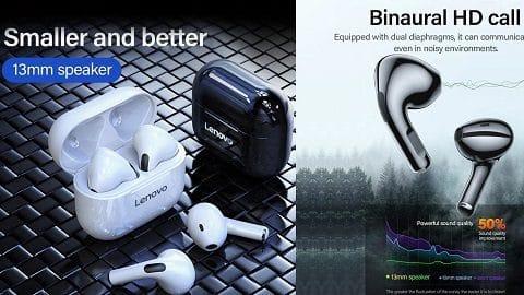 Lenovo LivePods LP40 TWS Semi-in-ear Earphones BT 5.0
