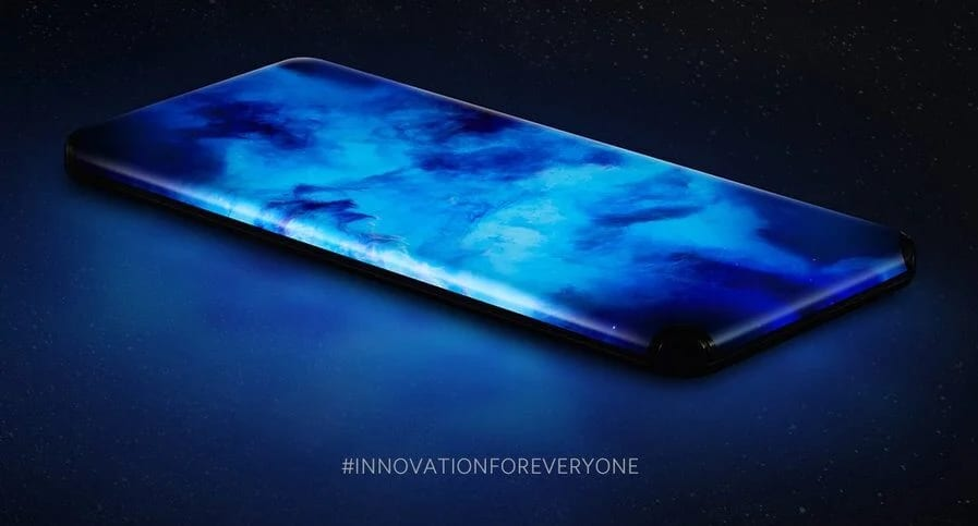 Xiaomi Concept Smartphone with Quad Waterfall display