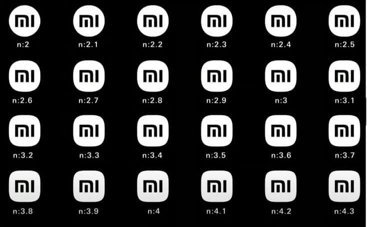 Xiaomi Logo Designs