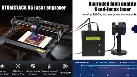 Laser Engraver (χαράκτης)ATOMSTACK A5 20W