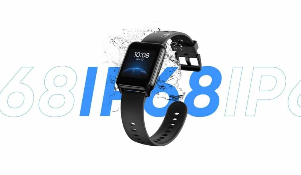 IP68 Resistance of Realme Watch 2