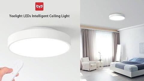 Yeelight YLXD76YL AC220V 23W LEDs Intelligent Ceiling Light με τηλεχειρισμό