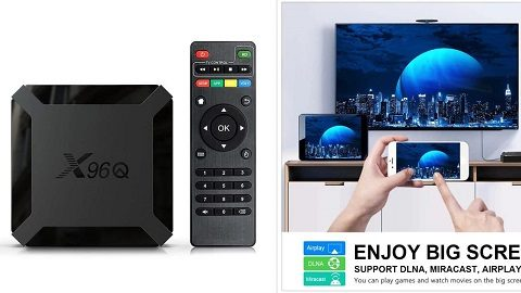 X96Q TV Box Android 10.0 AllwinnerTV Set Top Box (4K 3D Media Player)