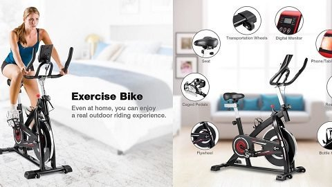 YS-S05 Indoor Cycling Stationary Exercise Bike (with Resistance LCD Display)