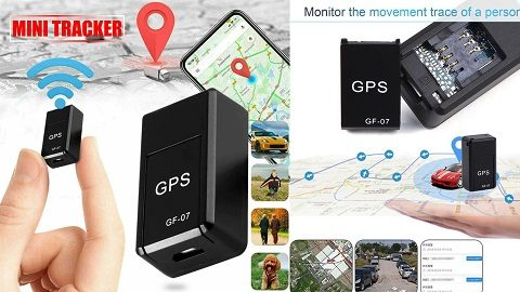 GF07 Tracking Device Mini GPS Tracker (Real Time Tracking Locator Device)
