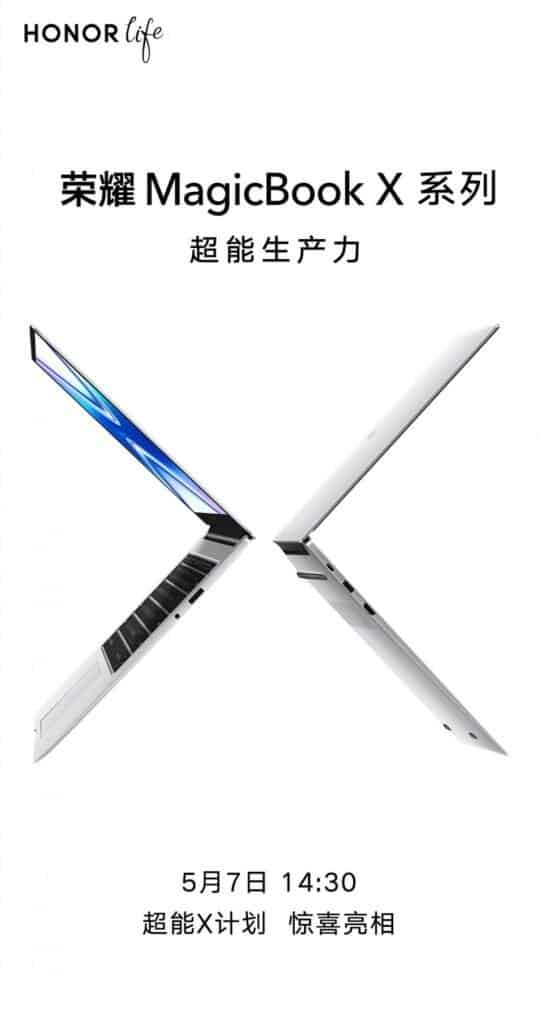 Honor MagicBook X Poster