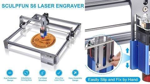 SCULPFUN S6 30W Laser Engraver(χαράκτης)