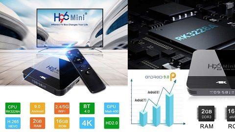 H96 MINI H8 Android 9.0 TV Box UHD 4K Media Player