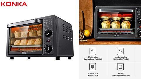 KONKA Toaster Oven 13L 1050W Countertop Oven