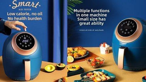 KONKA Air Fryer 3.5L 1400W Oven Airfryer (φριτέζα καυτού αέρα)