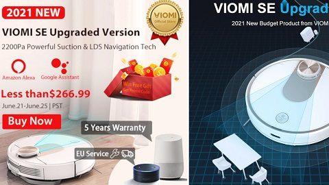Viomi SE Robot Vacuum Cleaner (2021 Upgraded Version)