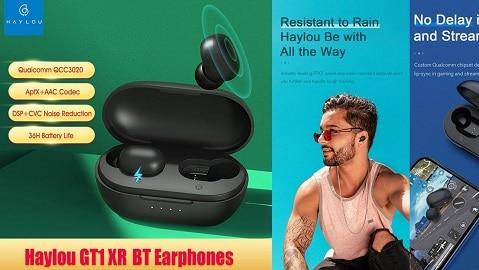 Xiaomi Haylou GT1 Plus TWS Wireless Earphones