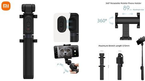 Xiaomi Mi Zoom Selfie Stick (Extendable Selfie Stick Tripod)